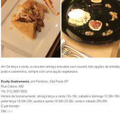 #gastronomiacontemporânea - Ecully no Blog All We Need is Food.