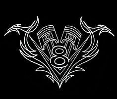 GearHead V8 logo Pistons Pinstripe vintage rat hot rod alley car T-Shirt M - 3XL | Clothing, Shoes & Accessories, Men's Clothing, T-Shirts | eBay!