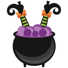 Witch in Cauldron: Miss Kate Cuttables