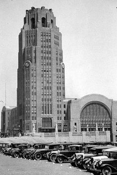 Buffalo Central Terminal. Absolutely beautiful art deco architecture, even though it's in disrepair.