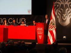 Realización de la señal institucional de audio para los medios en la Asamblea General del Athletic 2015