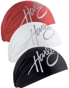 HARLEY-DAVIDSON® WOMENS CRYSTAL HEADWRAP