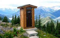 Loneliest outhouses on Earth    I've been here!