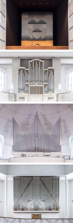 The Grandeur of German Pipe Organs Photographed by Robert Götzfried