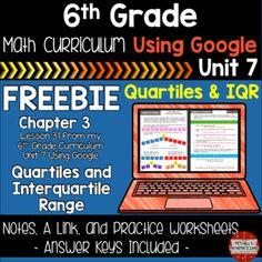Math Stations, Math Centers, Math Resources, Math Activities, Free Math, Math 2, Mean Median And Mode, Tech Websites, Math Pages