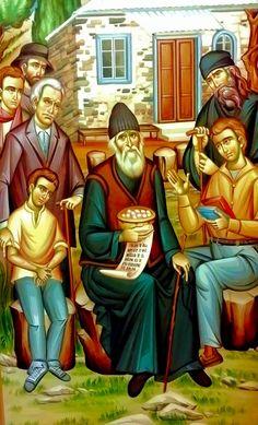 Κάποια  φορά, ο π. Παΐσιος μου διηγείτο πως του παρουσιάσθηκε η Παναγία μας,  μέρα μεσημέρι, και τον βοήθησε σε μια ανάγκη που είχε. Σ...