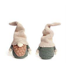 Witzige #Häkelanleitung für einen Weihnachts-Gnom / christmas gnome: diy #crochet pattern made by RoKiKi via DaWanda.com