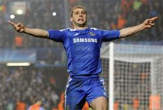 Ivanovic extra time goal celebration