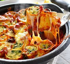Spinach and Ricotta Wrapped in Rotolo