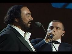 "Maestro Luciano Pavarotti and the wonderful Eros Ramazzotti – ""Se Bastasse Una Canzone"" Two more extraordinary reasons why all over this world…………Everybody Loves Italian! Hope you enjoy! Bmg Music, Music Film, Music Songs, Music Videos, Beautiful Songs, Love Songs, World Music, Music Is Life, Today In History"