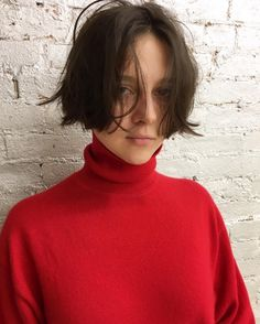 Mah crazy morning hair look. Girl Short Hair, Short Hair Cuts, Short Hairstyles For Women, Cool Hairstyles, Androgynous Hair, Morning Hair, Shot Hair Styles, My Hairstyle, Hair Images