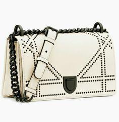 feef4321496e Christian Dior small diorama bag off- white calfskin