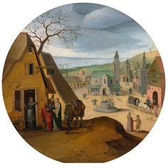 アベル・グリマー (Abel Grimmer)「Allegory of December」