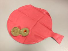 Medical Play/Prep-Explantion of a G-Tube using a whoopee cushion and bottle top. #ChildLife #LooseParts