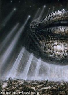 HR Giger Art Poster Print Hyperspace I Biomechanical Baphomet Alien Robot Erotic in Art | eBay