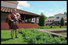 photos legionnaires villa romaine Borg 2011