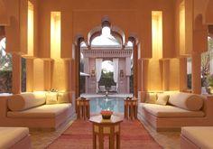A #maison #private #pool at the beautiful #Amanjena. #Morocco #Marrakech #accommodation #travel #F1S