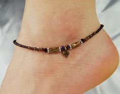 charm metallic bracelet women womens jewelry leather pin anklet anklets gift ankle for gold red her