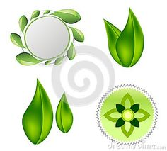 Leaves Ecology Logo Icon Design Stock Vector - Illustration of concept, element: 100458421 Flower Logo, Leaf Logo, Abstract Flowers, Ecology, Icon Design, Wellness, Symbols, Leaves, Icons