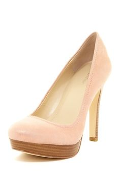 Calvin Klein Kendall Stacked Heel