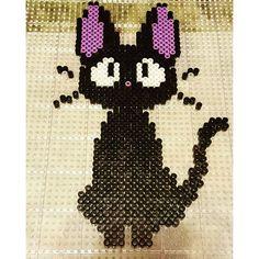 Jiji's Cat perler beads by  sakothefox
