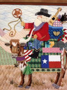 Needlepointing pics for your view pleasure