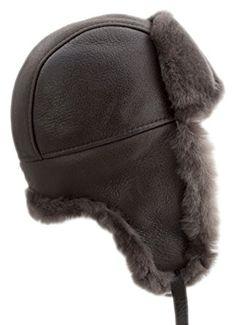 c3152debf8759 buyfurhat Women s Trapper Ushanka Aviator Russian Sheepskin Hat Review.  Winter AccessoriesAviationCaps ...