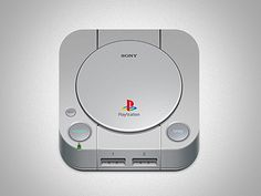 Playstation Mobile App Icon by Raphael Lopes. 25 Clever Mobile App Icons #mobile #design #app #icon #inspiration