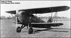 Curtiss P-6A Hawk, 29-260, with fatter and deeper fuselage and new oleo-pneumatic landing gear.