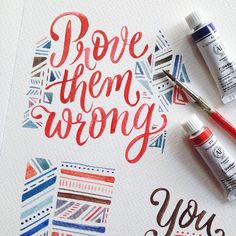 A compilation of watercolor lettering work from July to October 2015 for various projects and personal endeavors. Watercolor Hand Lettering, Brush Lettering, Watercolor Calligraphy Quotes, Lettering Guide, Brush Pen Calligraphy, Calligraphy Doodles, Lettering Tattoo, Hand Lettering Quotes, Brush Script