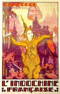 Cochinchine - Cambodge