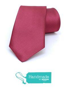 "Red striped men's tie 7 cm (2,76"") SL-304 from Nazo Design… #handmadeatamazon #nazodesign"