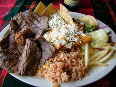 COMIDA TIPICA DE TAMAULIPAS,MEXICO Carne Tampiqueña