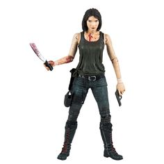 AmazonSmile: McFarlane Toys The Walking Dead TV Series 5 Maggie Action Figure: Toys & Games