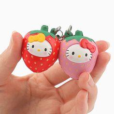 Sanrio Hello Kitty Squishy Fruit Series Phone Strap - Hamee