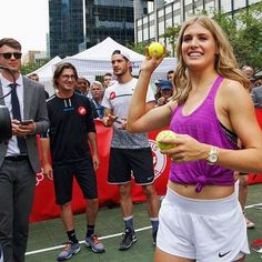 Tennis balls for everyone!  #CoupeRogers