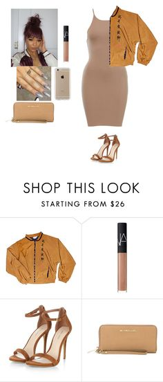 """""""🍂🍂"""" by official-jamaya ❤ liked on Polyvore featuring NARS Cosmetics, MICHAEL Michael Kors and Speck"""