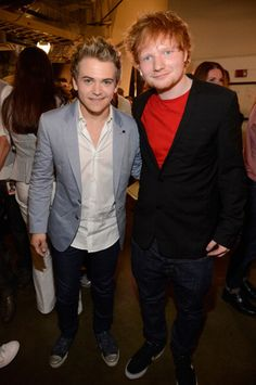 Hunter Hayes + Ed Sheeran = Cuteness Overload Ed Sheeran is the best singer ever of all time! hunter hayes is too cut! Country Singers, Country Music, Music Love, My Music, Edward Christopher Sheeran, Pretty People, Beautiful People, Cmt Music Awards, My Bebe