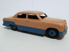 DINKY TOYS NO.170 FORD SEDAN, PINK/MID BLUE LOW LINE