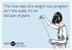 Yes!! I've gained weight but I'm 2 sizes smaller. I couldn't care LESS what I weigh as long as I can slip on those 2's ;) But even that may increase lol Squats....