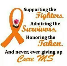 R.I.P.  My cousin Patti, at 21 from MS. Fighting still: THE MS COUSINS -Never give up! : )