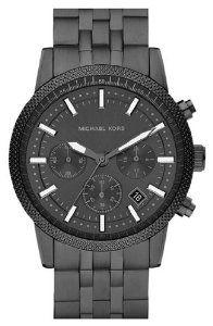 Michael Kors Scout Chronograph Gunmetal-Plated Mens Watch MK8274: Watches: Amazon.com