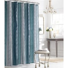 Manor Hill Sierra Shire 72 X Fabric Shower Curtain Bed Bath