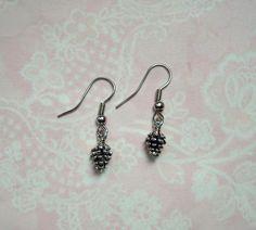 Ohrringe Zapfen Silber Vintage von MiMaKaefer auf DaWanda.com