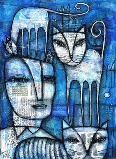 Dan casado коты: 1 тыс изображений найдено в Яндекс.Картинках Cat Drawing, Art Journal Inspiration, Art Images, Bing Images, Cat Art, Art Forms, Kitsch, Collage Art, Amazing Art