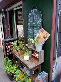 A small #garden outside of a #cafe at #Sapporo #Japan