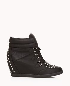 i've always wanted some spiked high heeled sneakers.!!!! the ones I want are steve madens though and those are really expensive.! so if you want some cheaper shoes here are some nice ones.!