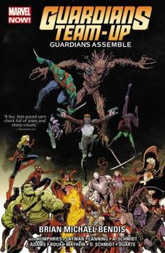 Launching directly out of Guardians of the Galaxy comes a new story bringing the Guardians to the Marvel Universe's grandest stage for an out-of-this-world adventures with some of the biggest hitters Marvel has to off er. See the Guardians assemble side-by-side with the mighty Avengers. Next, Ronan the Accuser joins the battle after the Black Vortex strikes the Kree Empire. Then see what happens when the intergalactic bounty hunters travel to New York and run into She-Hulk!