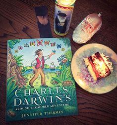 Art, Words, Life: Charles Darwin ~ Book Birthday!