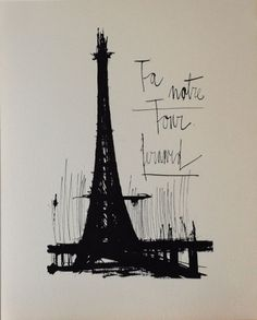 Bernard Buffet - Paris de mon coeur / ビュッフェ